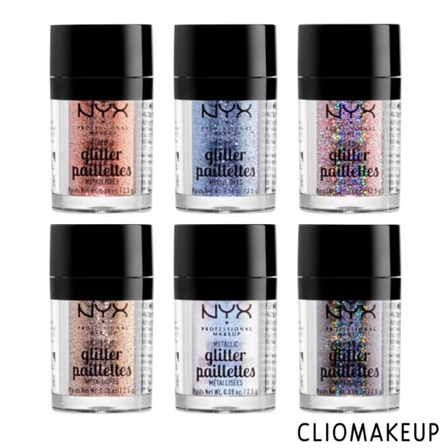 cliomakeup-recensione-metallic-glitter-pailettes-nyx-3
