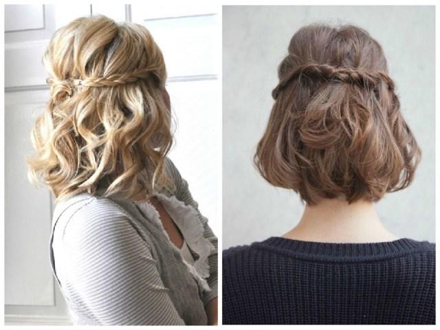 5 acconciature per capelli corti come realizzarle in modo semplice e ... b811ddb97478
