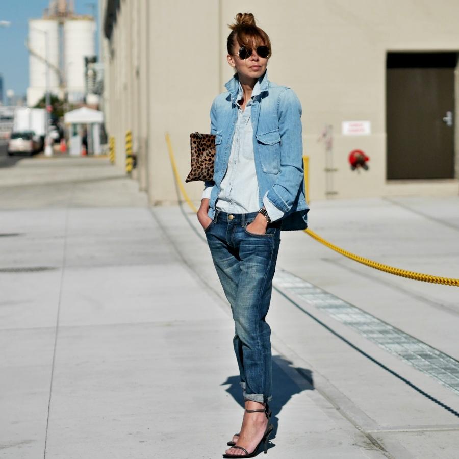giacca di jeans corta donna abbinamenti