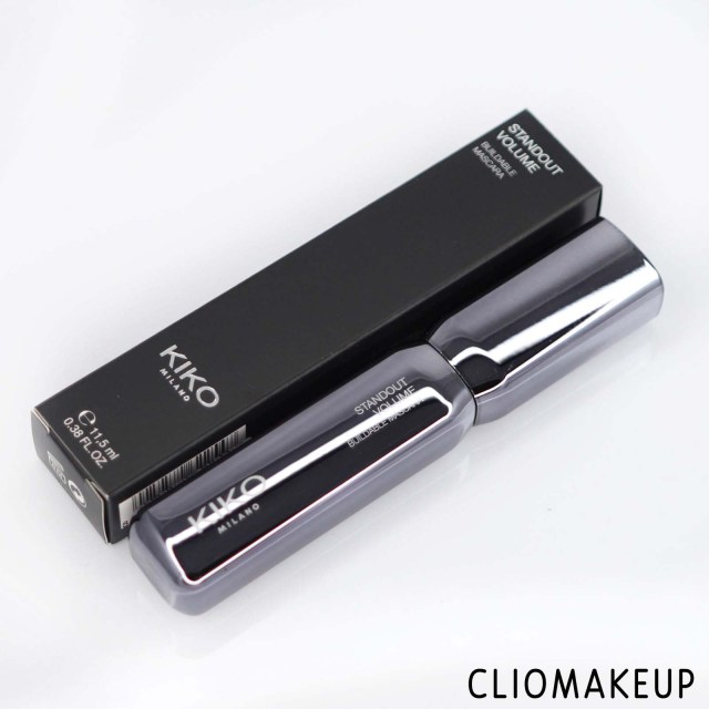 cliomakeup-recensione-mascara-kiko-standout-volume-buildable-mascara-2