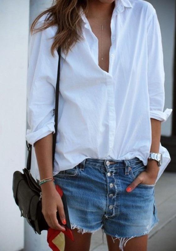 cliomakeup-pantaloncini-shorts-moda-4-camicia-bianca