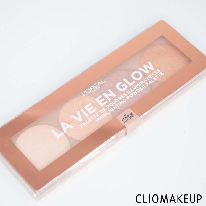 cliomakeup-recensione-illuminanti-l'oréal-la-vie-en-glow-highlighting-powder-palette-2