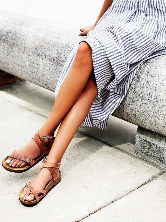 Come abbinare i sandali Birkenstock  4 modelli hot e 4 outfit da copiare dc6e91994fa