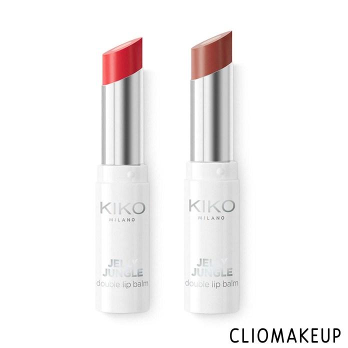 cliomakeup-recensione-balsamo-labbra-kiko-jelly-jungle-double-lip-balm-3