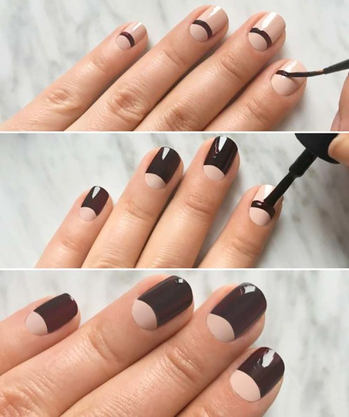 cliomakeup-french-manicure-half-moon-tutorial