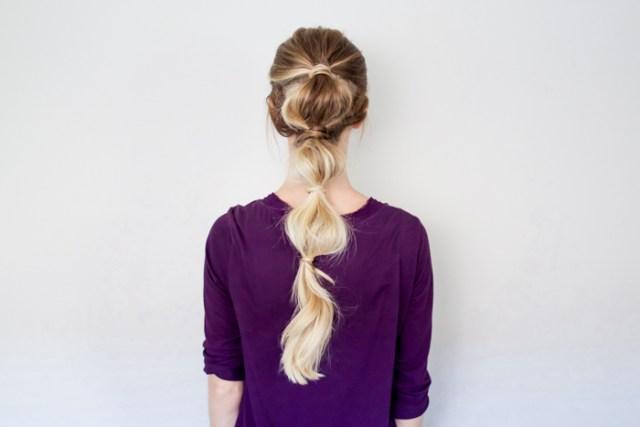 cliomakeup-acconciature-veloci-bubble-ponytail