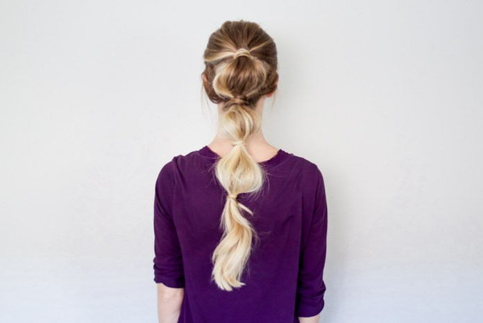 cliomakeup-acconciature-veloci-bubble-ponytail