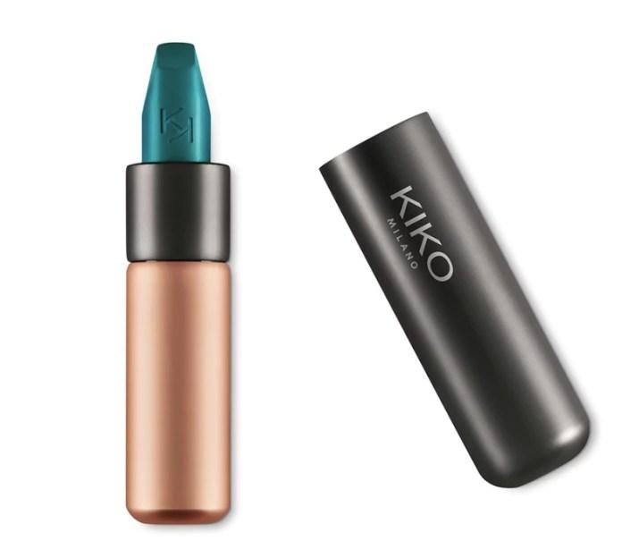 cliomakeup-makeup-colori-stravaganti-5-kiko-rossetto-verde