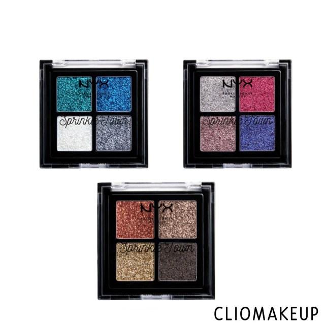 cliomakeup-recensione-palette-glitter-nyx-sprinkle-town-cream-glitter-palette-3