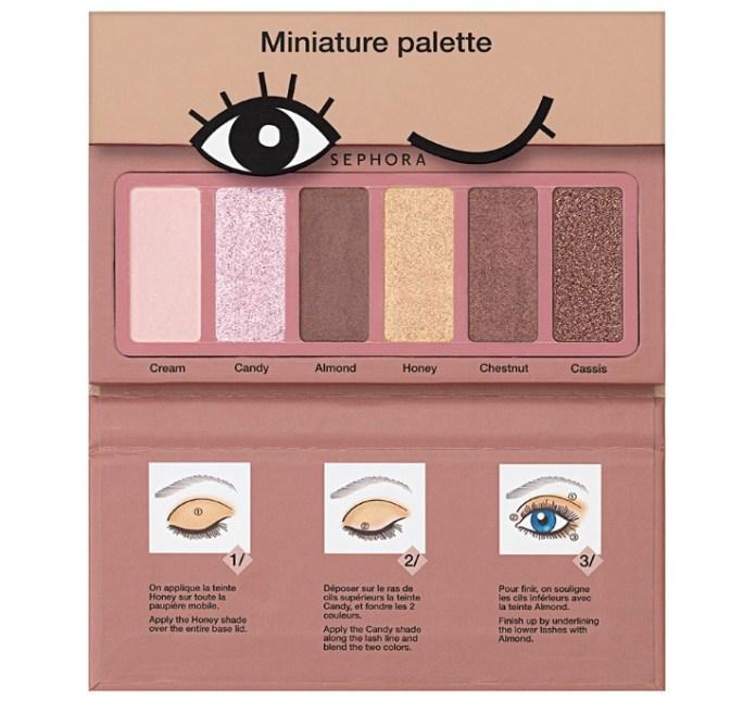 cliomakeup-mini-palette-borsetta-15-sephora-collection-donut