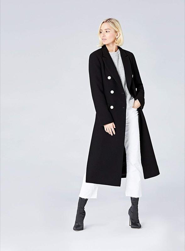 ClioMakeUp-cappotti-tendenza-2019-10-doppio-petto-nero-. FIND Cappotto  Doppiopetto Donna. be794247cec