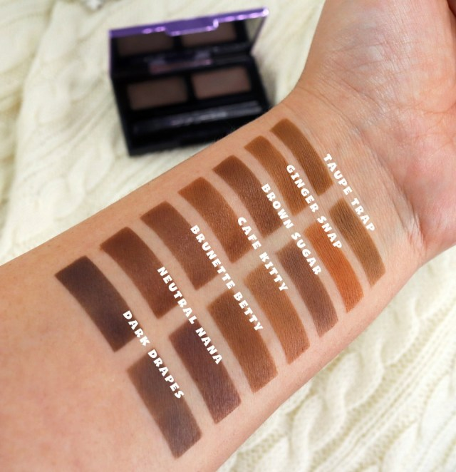 cliomakeup-prodotti-flop-gennaio-2019-6-Urban-Decay-UD-Street-Style-Double-Down-Brow-Swatches