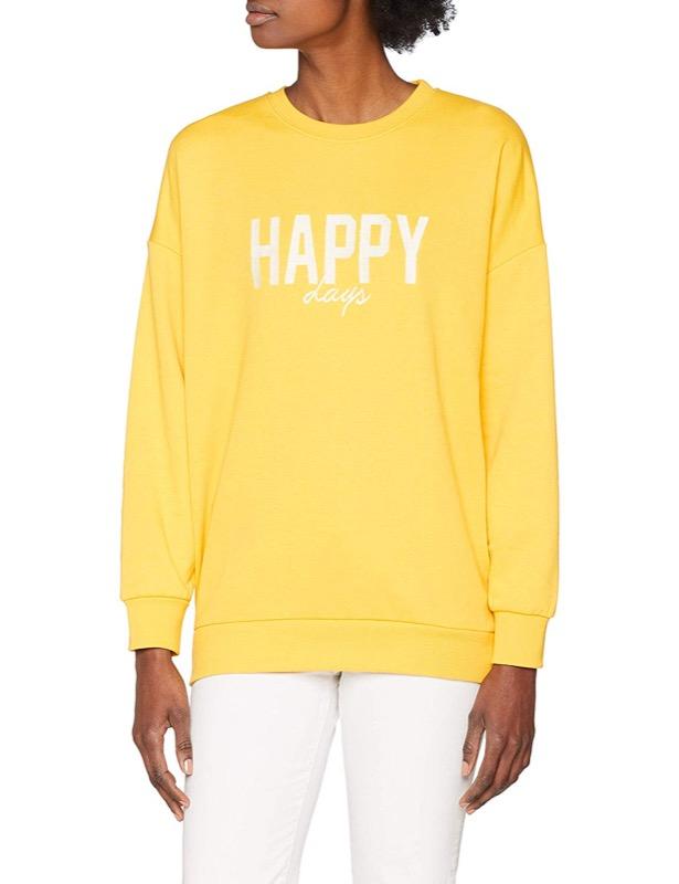 ClioMakeUp-vestiti-gialli-7-felpa-scritta-amazon.jpg