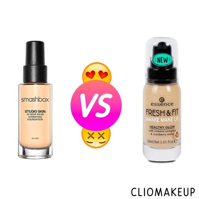 cliomakeup-recensione-dupe-smashbox-studio-skin-15-hour-wear-hydrating-foundation-essence-fresh-e-fit-awake-make-up-1