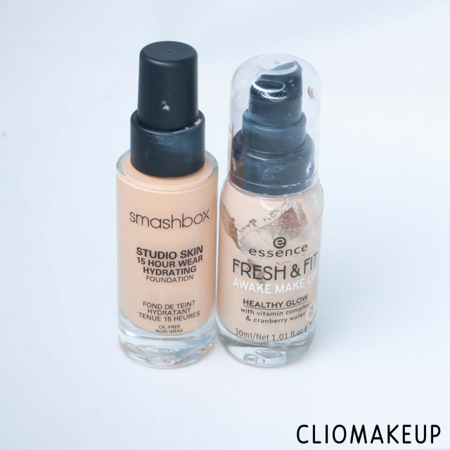 cliomakeup-recensione-dupe-smashbox-studio-skin-15-hour-wear-hydrating-foundation-essence-fresh-e-fit-awake-make-up-2