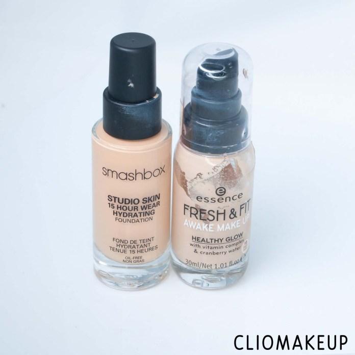 cliomakeup-recensione-dupe-smashbox-studio-skin-15-hour-wear-hydrating-foundation-essence-fresh-e-fit-awake-make-up-2