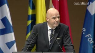 Image result for FIFA president Infantino wants to reform transfer system