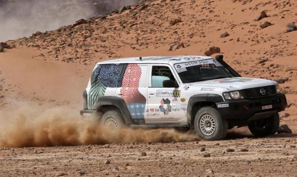 سعودي من ذوي الاحتياجات يحقق المركز الأول في سباق سيارات بالأردن