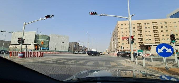 The reopening of the intersection of Al-Orouba Road with Olaya Street in Riyadh