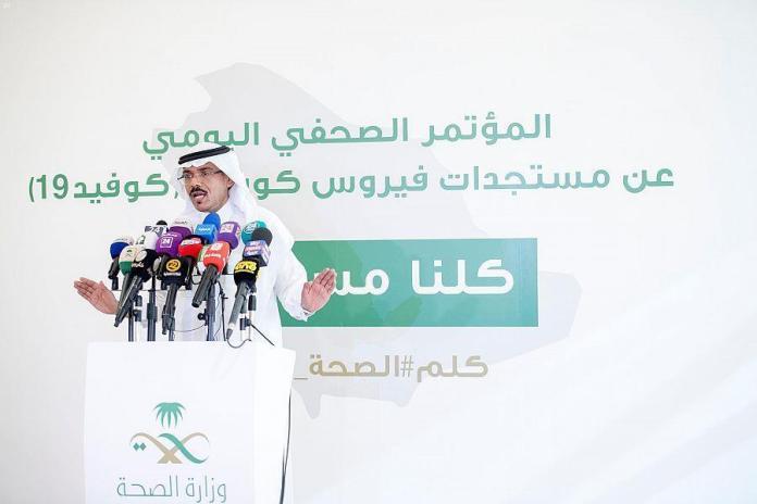 Ministry of Health spokesperson Mohamed Abdelali