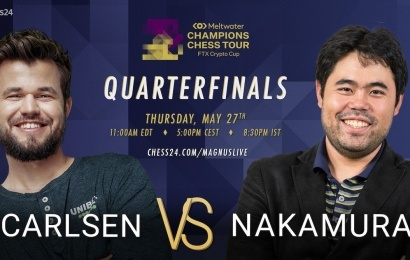 carlsen vs nakamura quarterfinals teaser