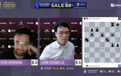 liem finds winning move aronian