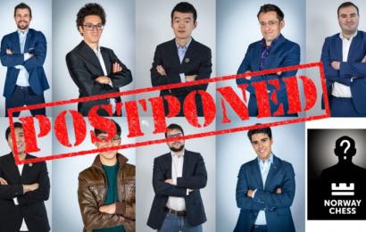 norway chess postponed teaser