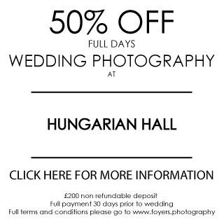Hungarian Hall great wedding venue