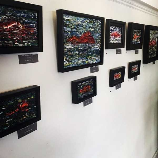 Great art work on sale by Christopher Newson at @tgfg6a_gallery