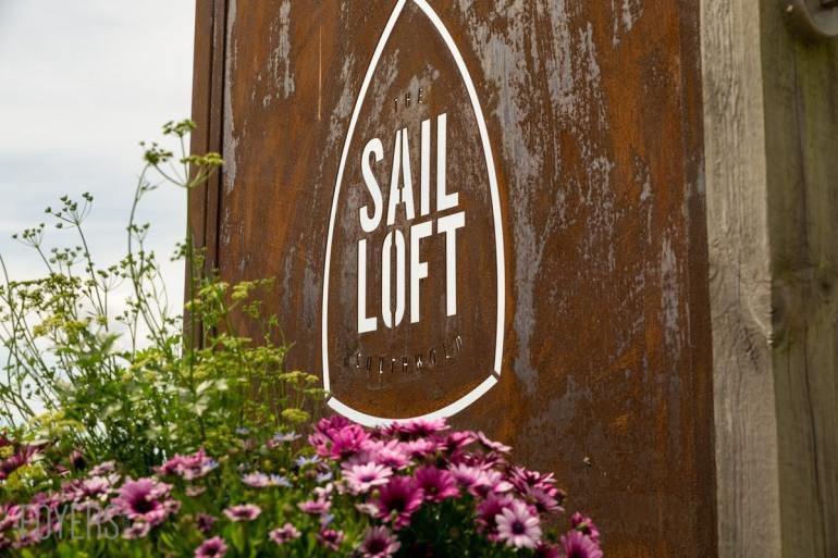 Sign at the Sail Loft Southwold
