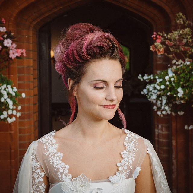 Amazing wedding hair was done by Mel and team from Innov8, Saxmundham for bridle dress photoshoot at Woodhall Manor with @martin_dobson_couture @innov8hair @woodhallmanor @faybulous7 9 . . . . .