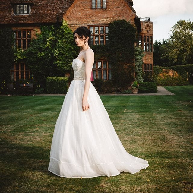 Beautiful Sheera from recent bridle dress photoshoot at Woodhall Manor with @martin_dobson_couture @innov8hair @woodhallmanor @bespoke_celebration_cakes . . . . .