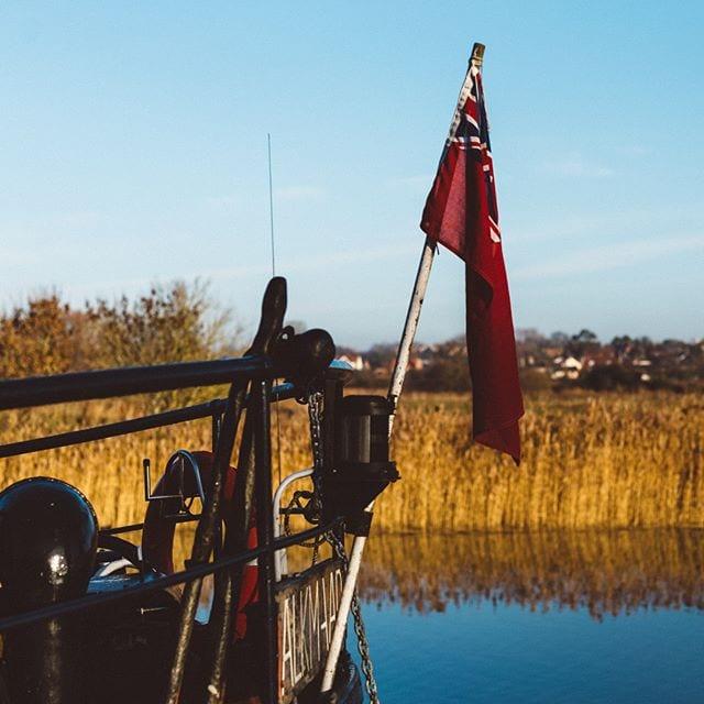 Boat as  Snape Maltings