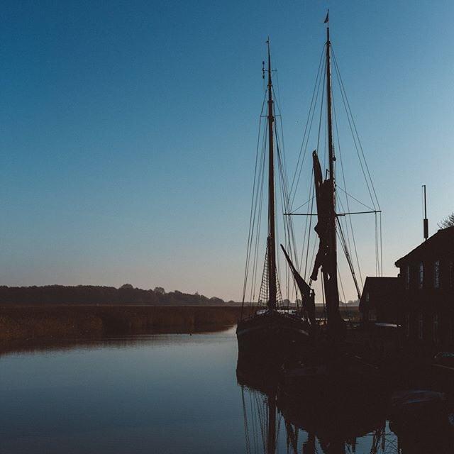 Boats at Snape