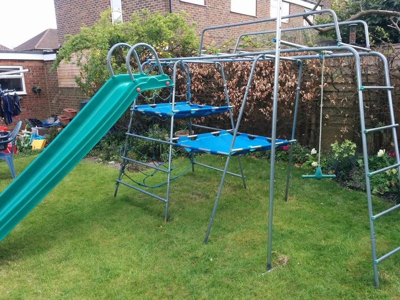 Tp Climbing Frame With Slide And Swing | Frameswalls.org