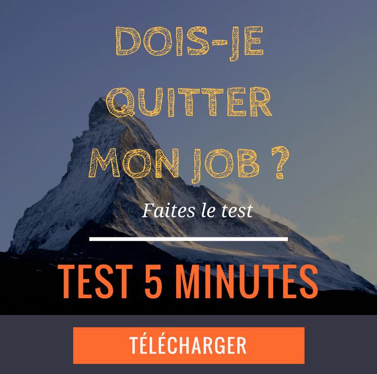 Test - Dois-je quitter mon job ?