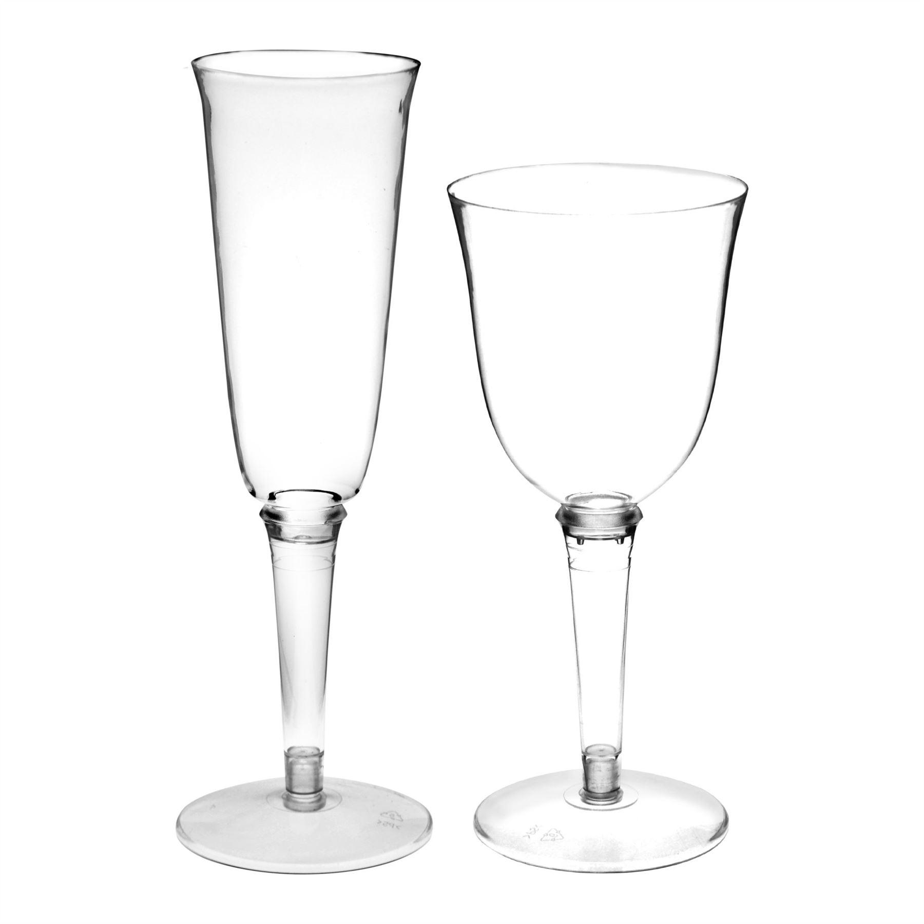 Plastic Champagne Glasses Flutes Amp Wine Glasses Outdoor