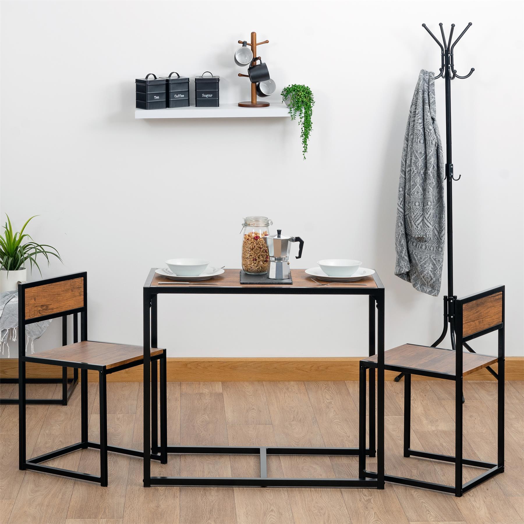 details sur 2 personne economie d espace compact cuisine table a manger et chaises