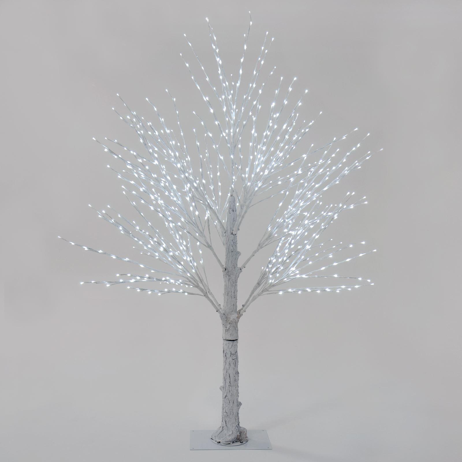 Giant Luxury White Twig Christmas Tree Led Lights 180cm