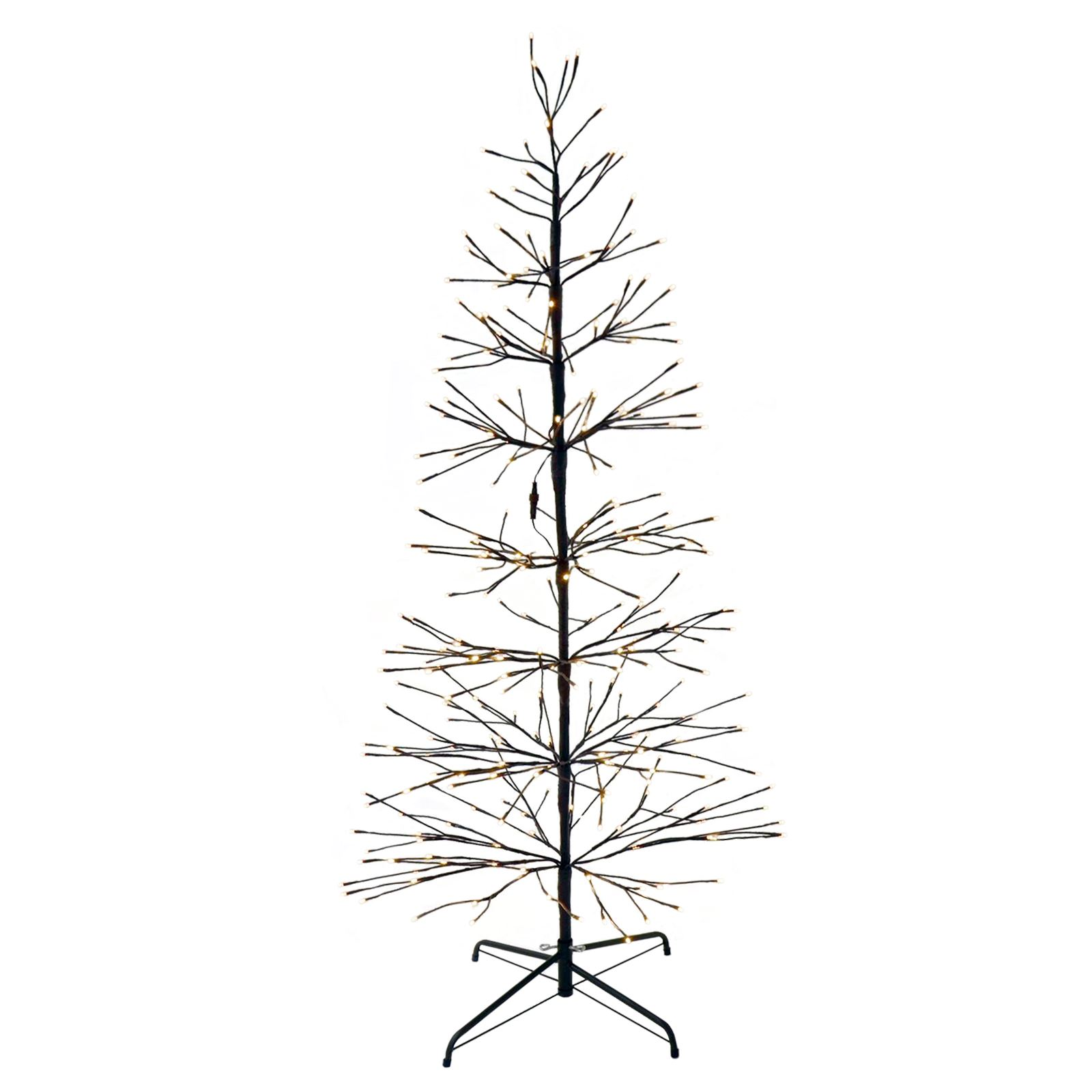 Luxury Brown Twig Effect Decorative Tree With Warm White