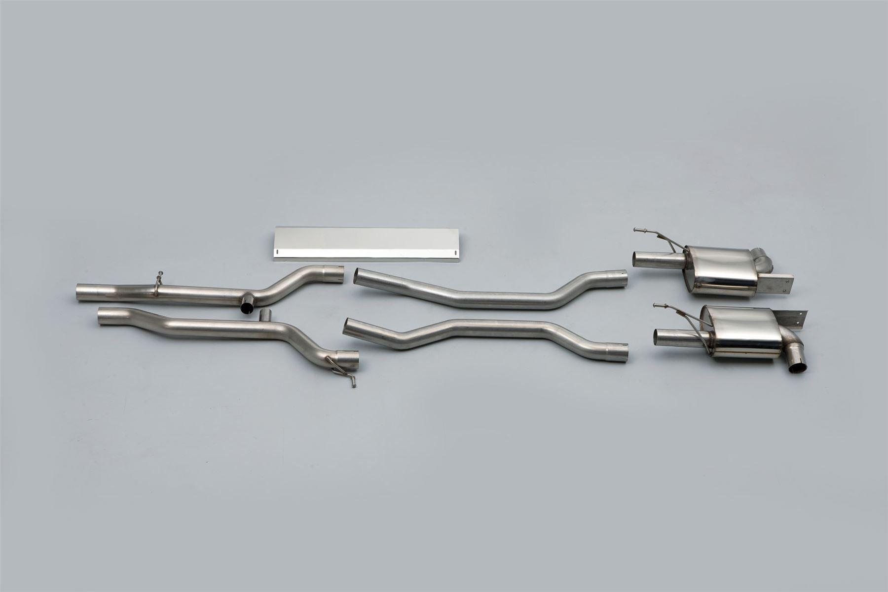 Ssxpo018 Milltek Exhaust For Porsche Cayenne 955 S 4 5 V8