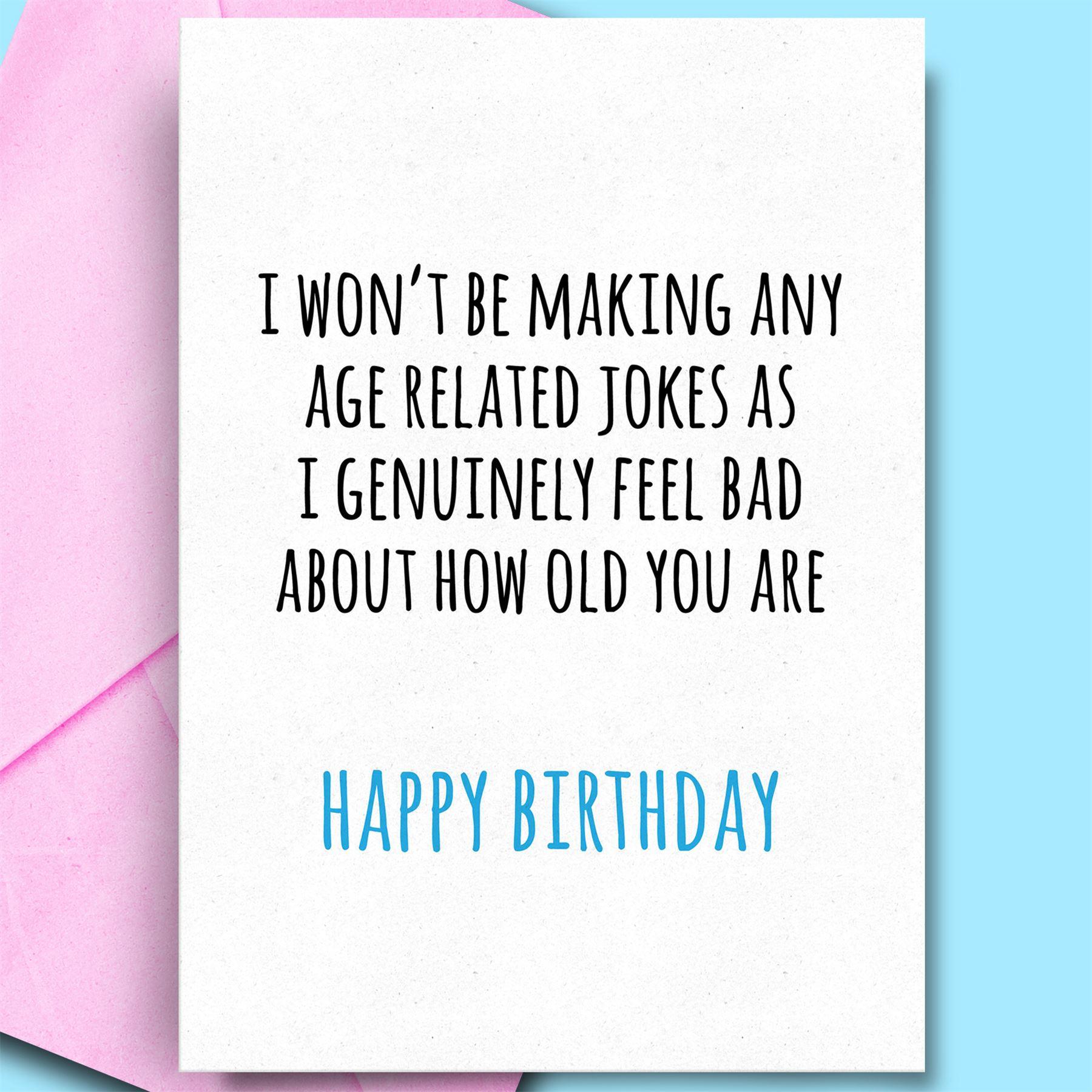 Funny Happy Birthday Cards For Son Husband Aunt Friend Comedy Adult Rude Fun Ebay