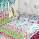 Fairy Princess Sleeping Double Duvet Cover Set New Girls 5027491748711 Ebay