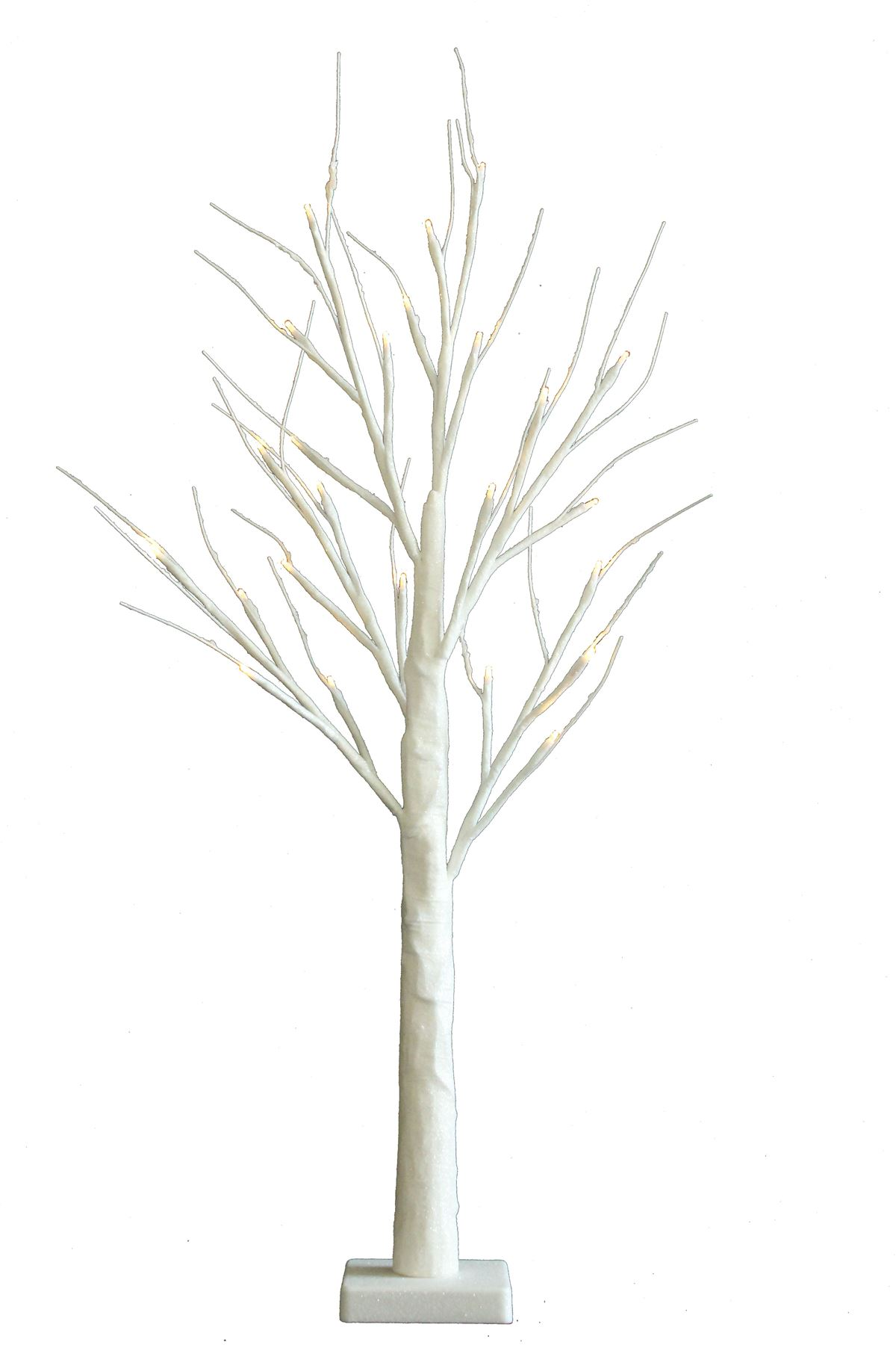 2ft Easter Christmas Table Top Warm White Twig Tree Pre