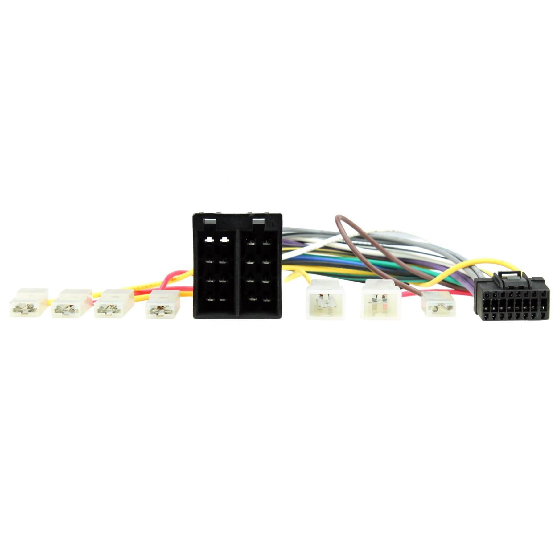 C2 16 Pin To Iso Harness Adapter Lead For Pioneer Deh