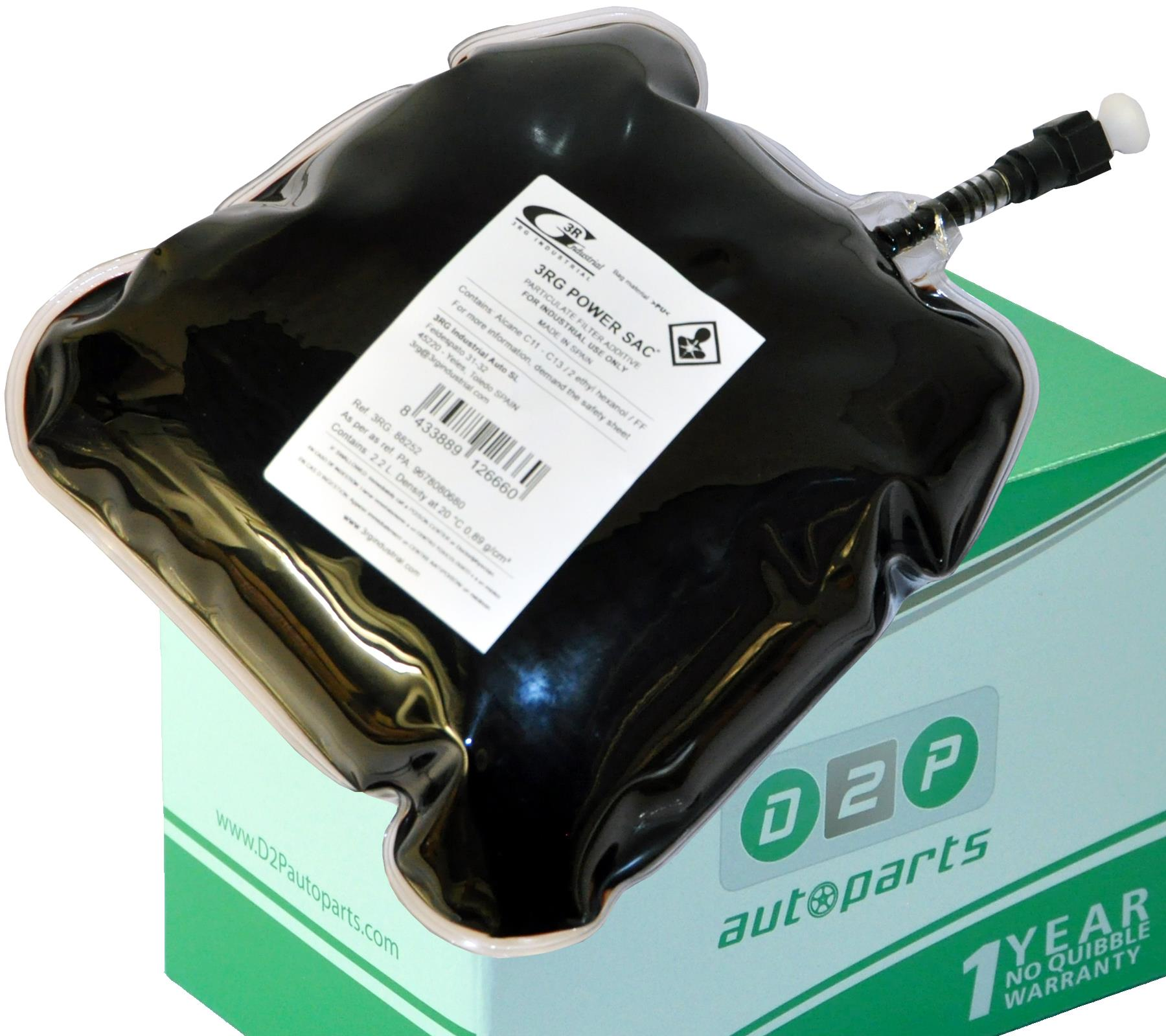 DPF FAP FLUID PARTICULATE ADDITIVE POUCH 9678080680 FOR CITROEN C4 I 1.6/2.0 Hdi, EUGEOT 307/SW, 308/SW, 3008