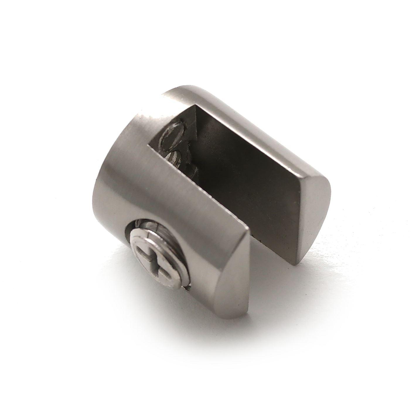 details sur pince clip pour support fixation de etagere glace en verre paquet de 4