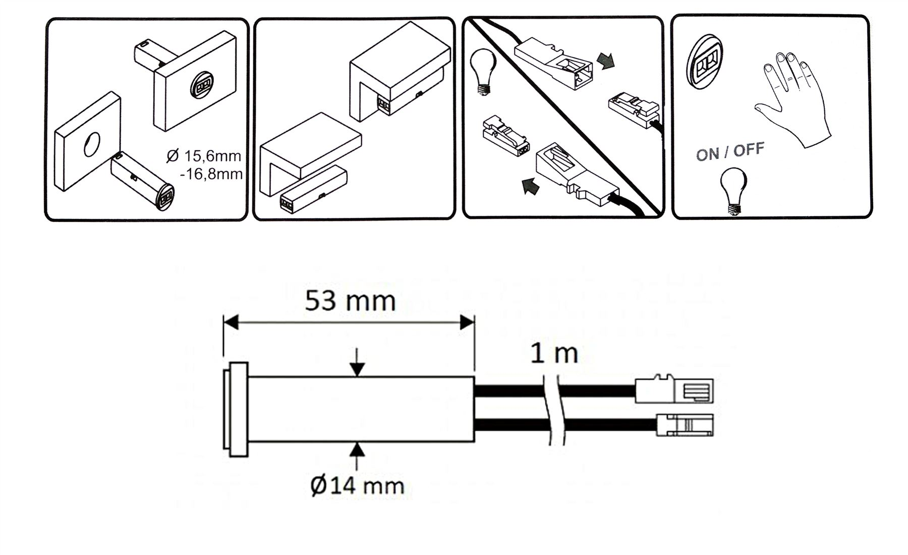 Fluorescent Tube To Led Light Wiring Diagram