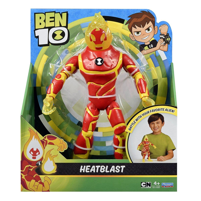 Ben 10 Giant 10 Heatblast Action Figure