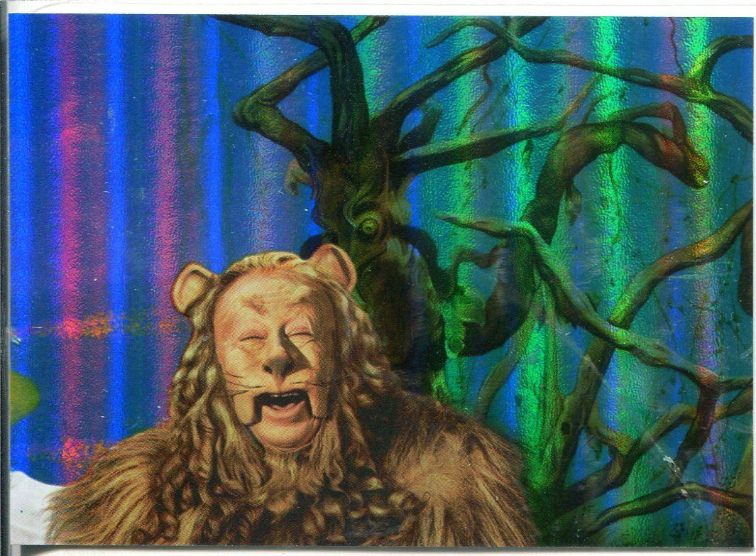 Wizard Of Oz Wiz Quiz Foil Puzzle Chase Card 1